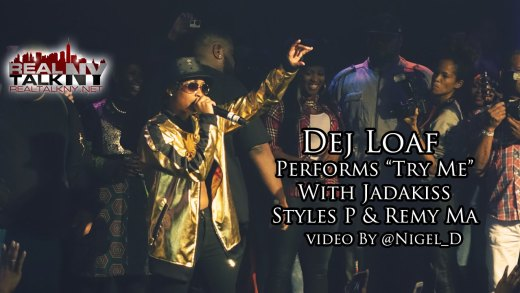 """Dej Loaf Performs """"Try Me"""" With Jadakiss, Styles P & Remy Ma"""