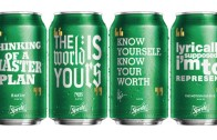 Sprite Can with your Favortie Artist Quotes. Nas, Rakim, B.I.G
