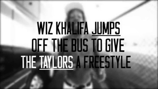 Wiz Khalifa – Tour Bus Freestyle