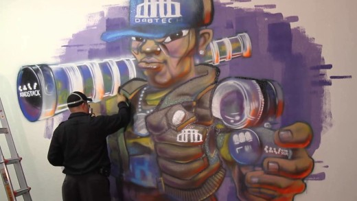 #Graffiti Characters – Hex Bboy Style at Fatcap