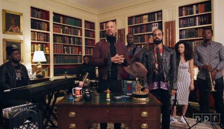 Common's Tiny Desk Concert at The White House