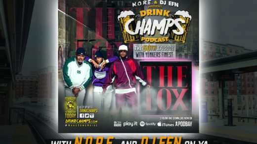 The Lox – Drink Champs @noreaga @djEFN @thelox