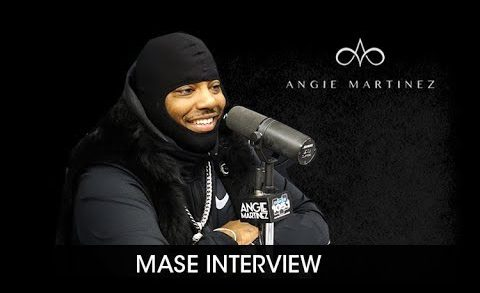 Mase Visits Angie Martinez (Interview) @angiemartinez