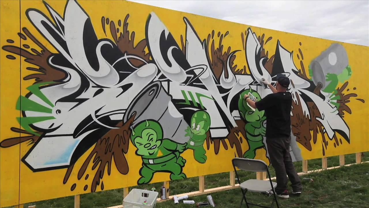 Pose, Risk, Ewok, Sever #Graffiti