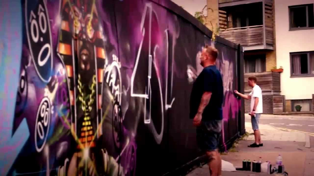 BRIM – TATS CRU, AROE – MSK #Graffiti