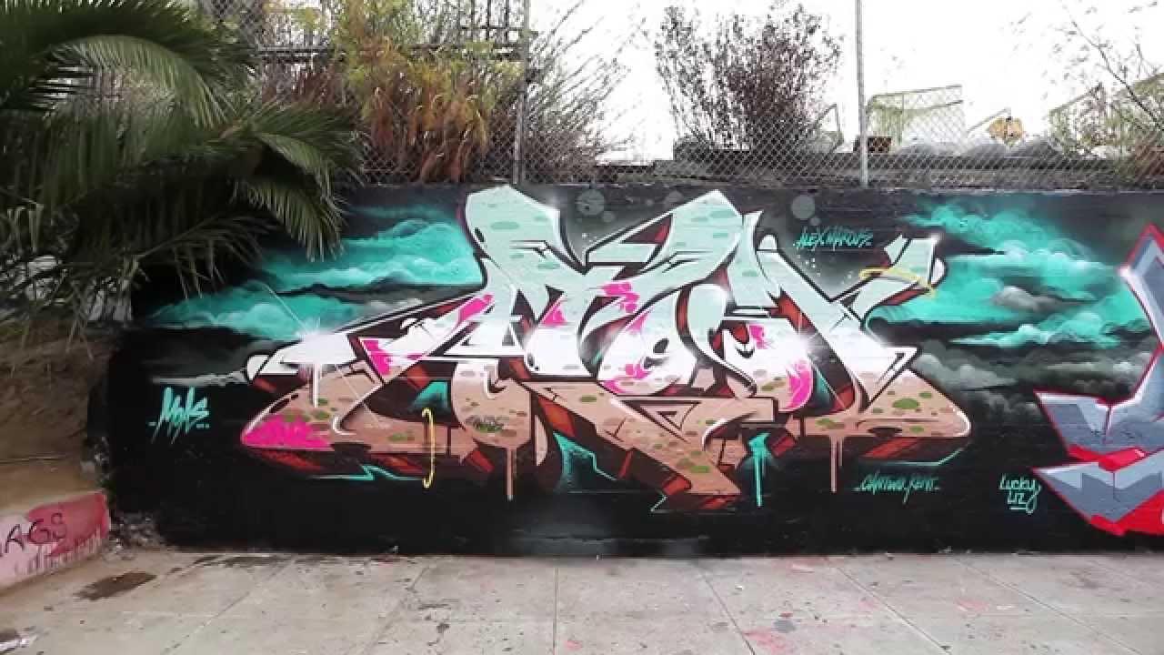 M.A.C. At San Francisco #Graffiti