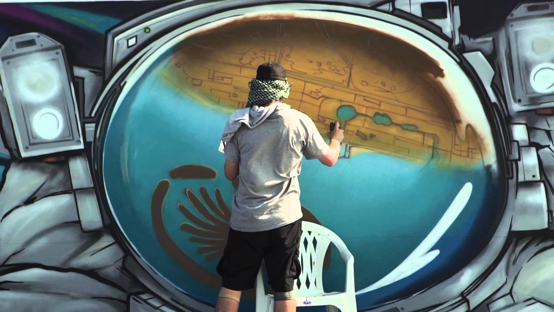 SOFLES, EWOK, BATES, DOES, & More in Dubai #Graffiti