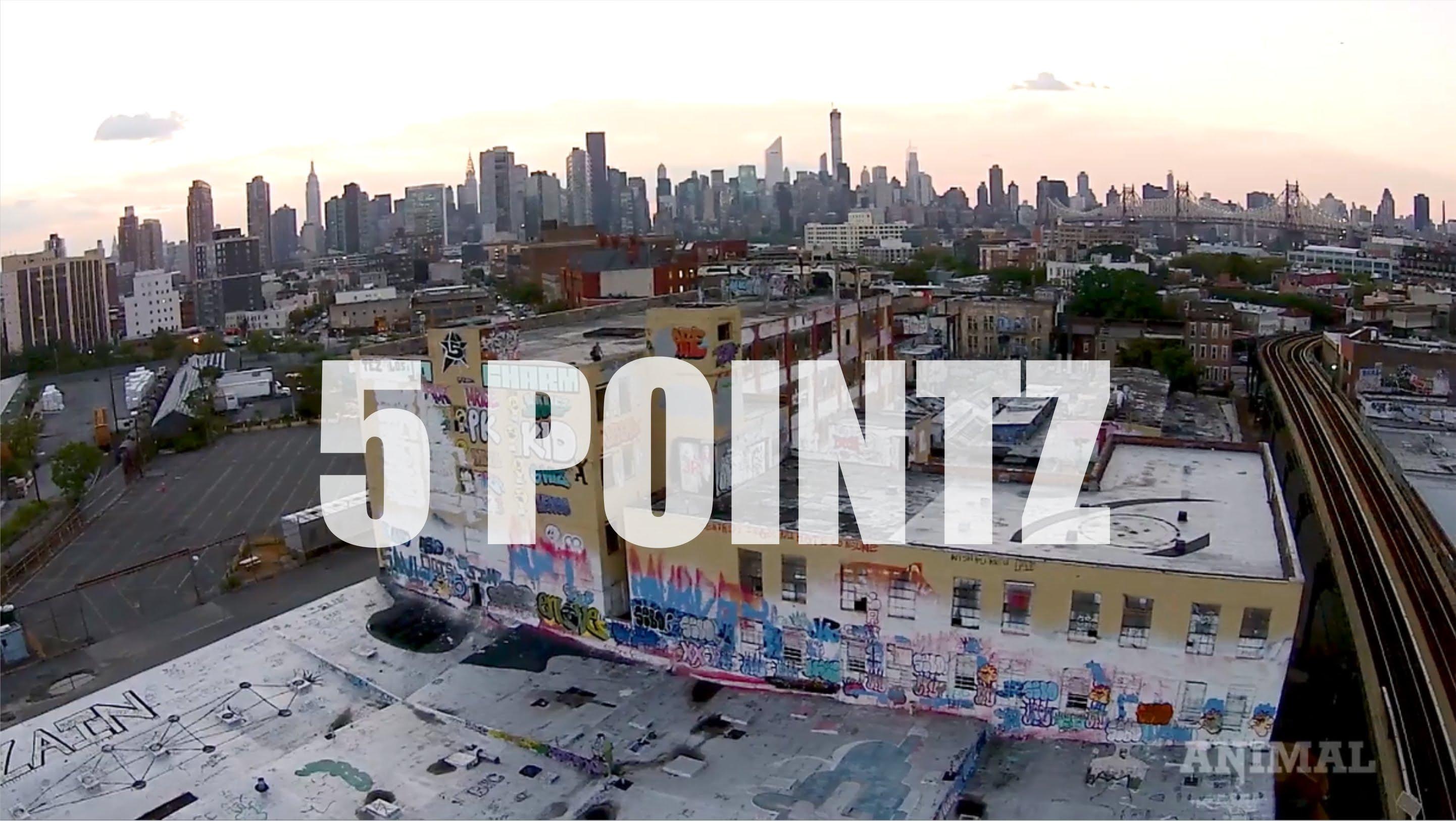 5 Points : #Graffiti
