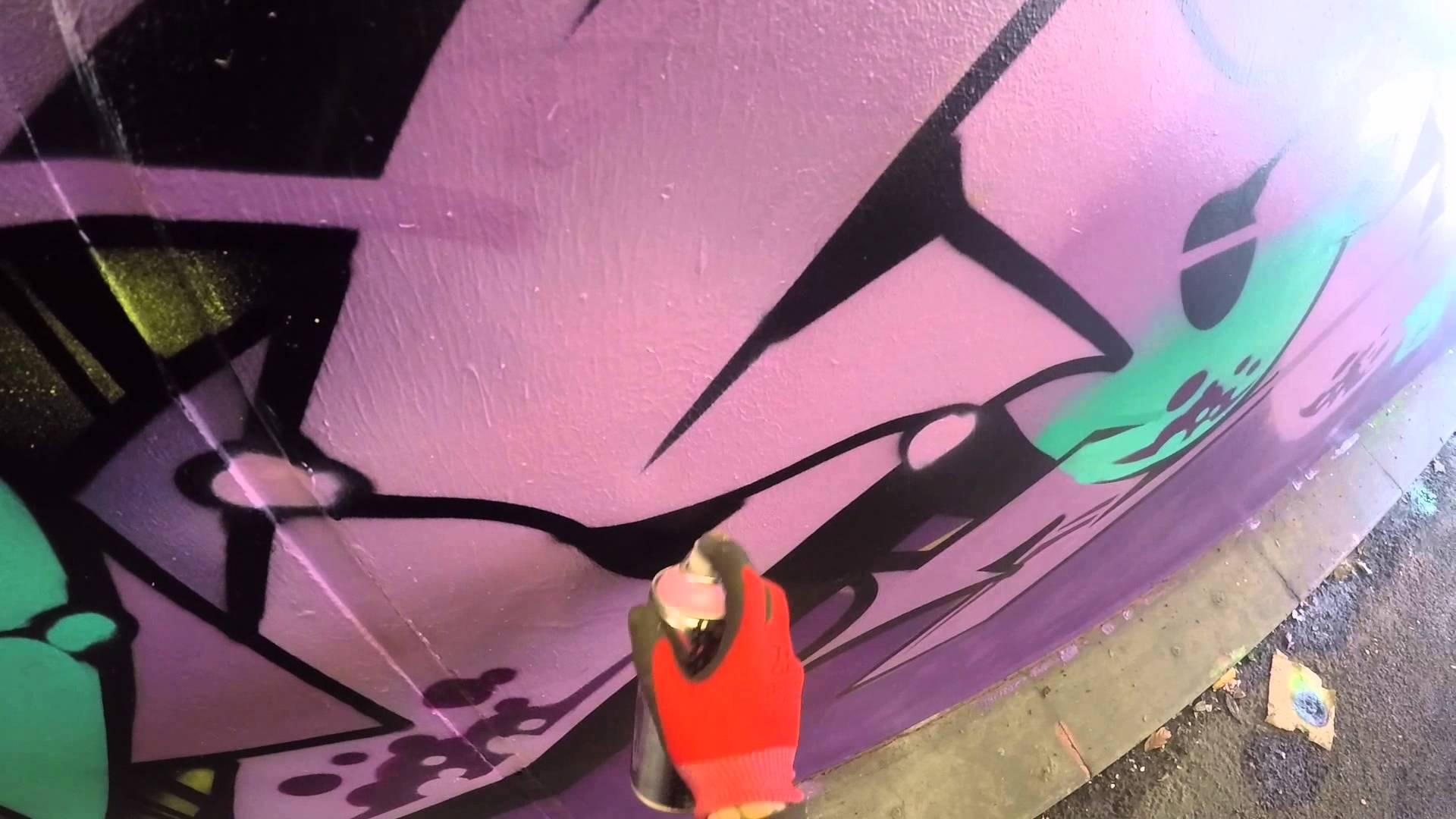 #Graffiti – Ghost, Osek, Zem, & Deets EA Crew