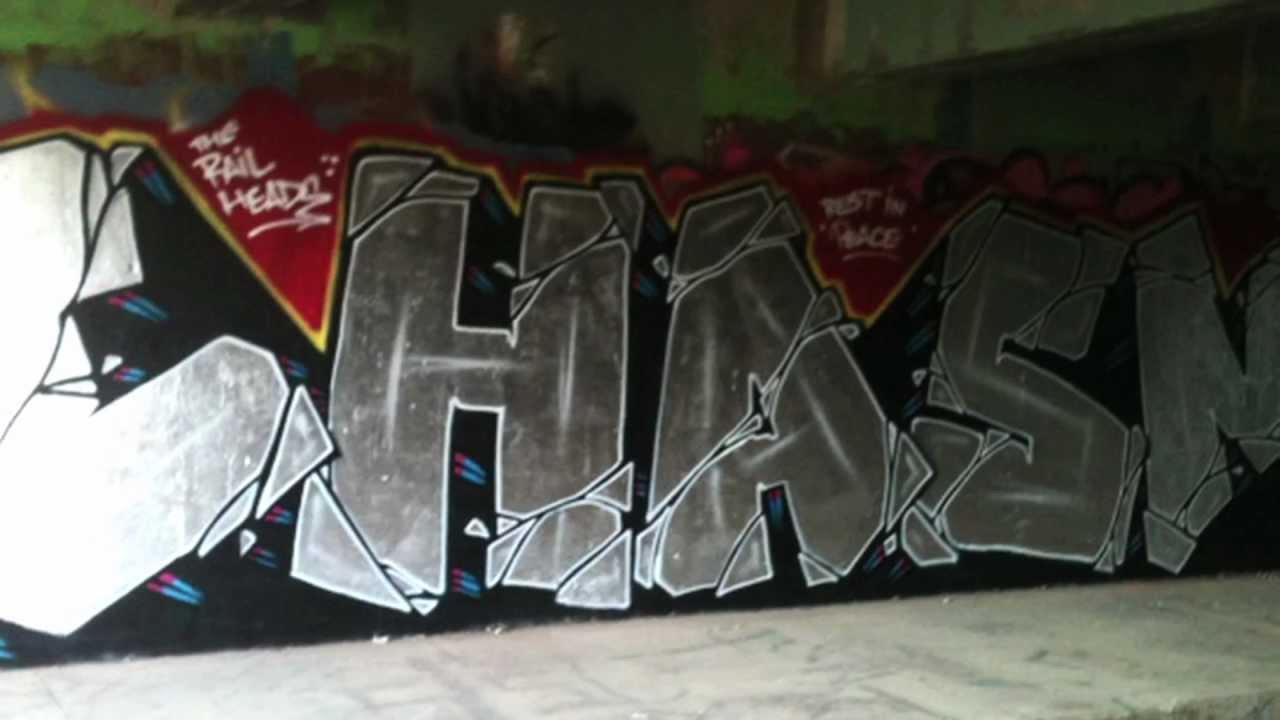 CHASM – RIP #Graffiti