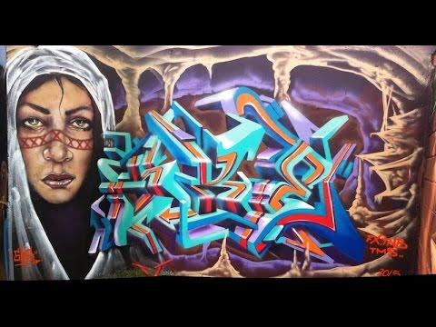 THE AMAZING SKE & TERRIBLE TKID in MEDELLIN #Graffiti