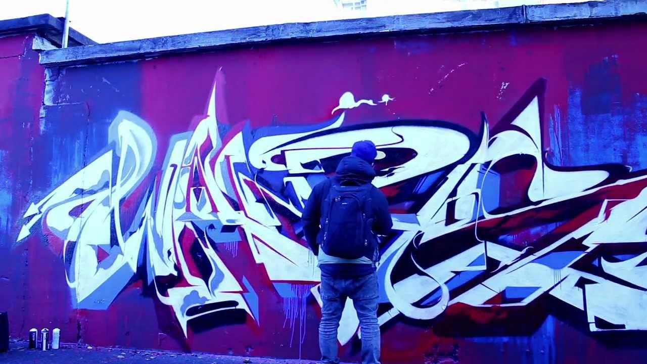 MR. WANY and BERST #Graffiti