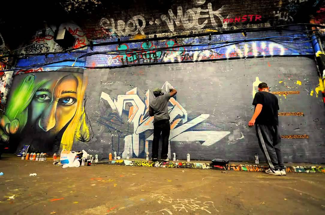 Shiz and Brisk #Graffiti