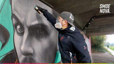 DOKE vs. SMOE | Portrait Graffiti Battle