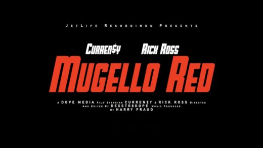 Curren$y Feat. Rick Ross – Mugello Red [OFFICAL VIDEO]